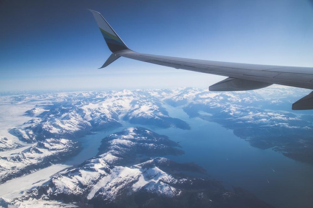 Domestic flights and ground transportation