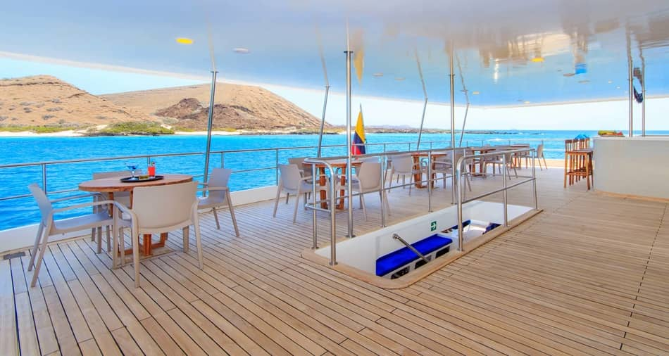 Call tour operators and ask about Galapagos cruise promotions